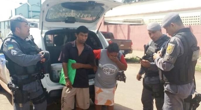 Mãe e filho são presos após latrocínio