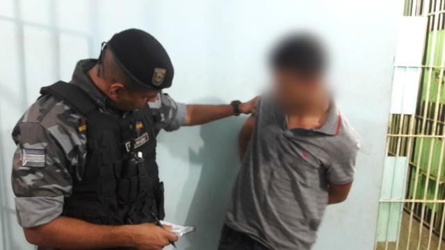 Bope impede fuga de menor que roubou R$ 1 mil de empresário