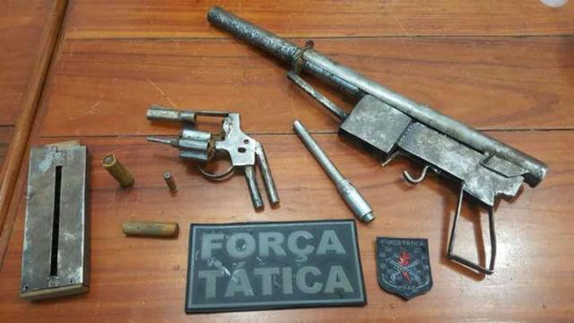 Fábrica de armas caseiras é fechada no Buritizal