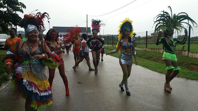 Bloco de Oiapoque leva folia brasileira para a Guiana