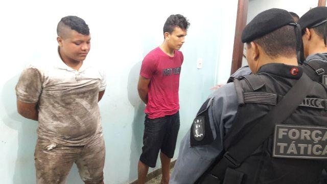 PM prende segunda dupla praticando roubos em moto