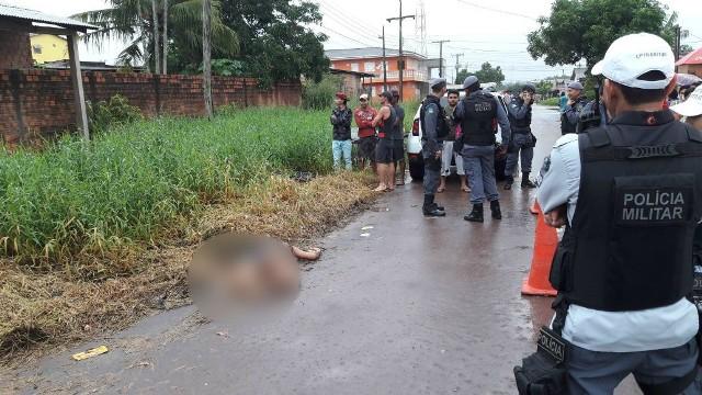 Moradores encontram corpo de autônoma na rua