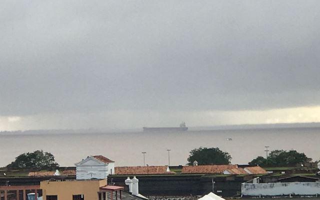 Teste com navio iguala Amapá a outros portos do Brasil