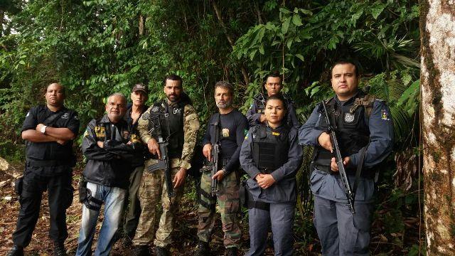 Operação na fronteira busca traficantes, garimpo ilegal e foragidos