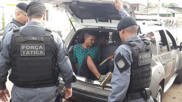 Força Tática da PM captura bando que cometia crimes violentos
