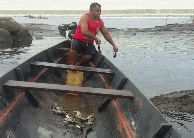 """""""Não temos mais pororoca e nem água potável"""", lamenta morador do Araguari"""