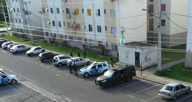Carro roubado usado em assaltos é encontrado com morador do São José