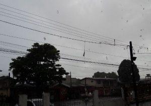 Defesa Civil emite alerta para chuvas nas próximas 72 horas