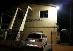 Adolescentes que invadiam casas para furto são detidos