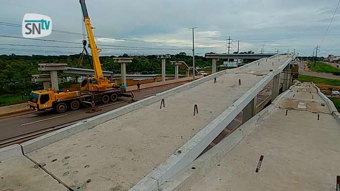 BR-210: 1ª passarela será inaugurada em abril, diz deputado