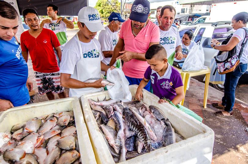Semana Santa terá 150 toneladas de pescado a preço popular