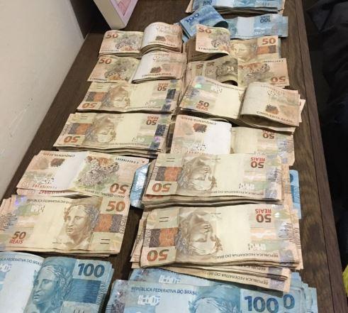 PF apreende R$ 36 mil em casa de amiga de funcionário da ANM