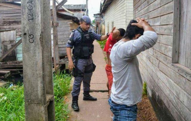 PM faz saturação na Baixada Pará