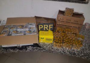 PRF prende homem com mil munições