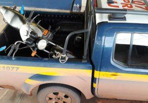 Operação da PRF em Mazagão localiza motos furtadas em Macapá