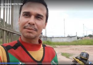 """Mototaxista sofre calote e relaciona situação a filme """"50 tons de liberdade"""""""
