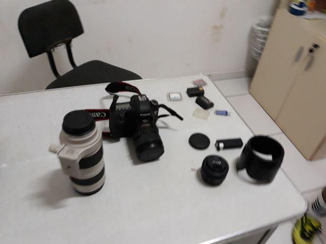 Polícia recupera equipamentos de filmagem roubados em assalto