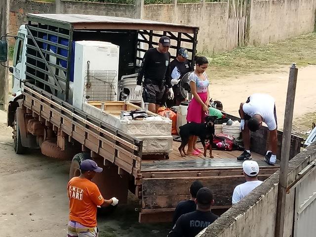 Força-tarefa presta ajuda a atingidos com alagamentos em Laranjal do Jari