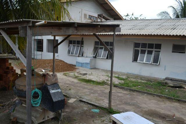 Em reforma há mais de um ano, UBS do Congós é cobrada por moradores