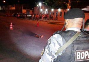Adolescente é executado a tiros no Beirol