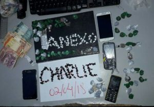Em 72 horas, 14 celulares, drogas e dinheiro são apreendidos no Iapen