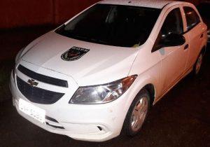 Bope recupera Uber roubado