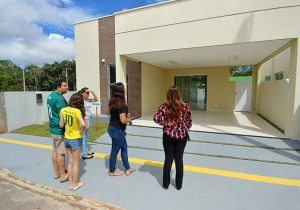 Futuros moradores se encantam com o Condomínio Bougainvillea