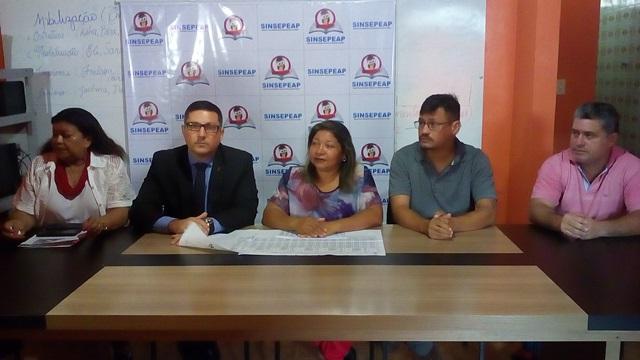 Após acordo com governo, Sinsepeap diz que campanha salarial continua