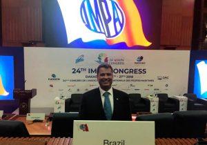 Prático do Amapá é reeleito vice-presidente mundial da Impa