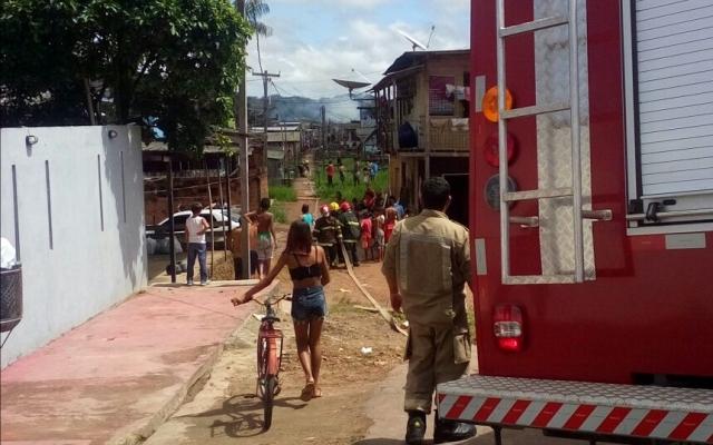 Incêndio e duas mortes em briga de família no Congós