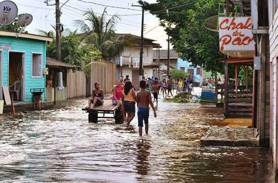 Com alta do Jari, prefeito decreta situação de emergência
