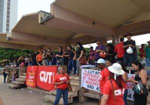 No AP, ato de apoio a Lula vai acompanhar julgamento no STF