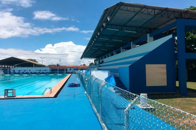 Revitalizada, Piscina Olímpica recebe torneio nacional