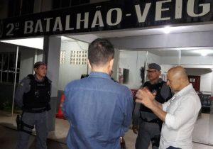 Novo secretário de Segurança percorre ruas e batalhões na madrugada