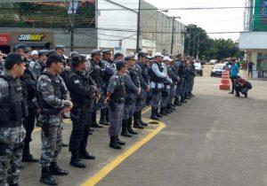 PM reforça batalhões para o feriado de Tiradentes