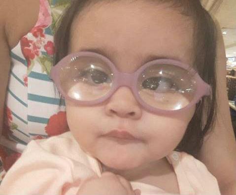 Com novas lentes, Valentina volta a ver o mundo