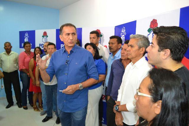 PDT indica Waldez para disputar quarto mandato