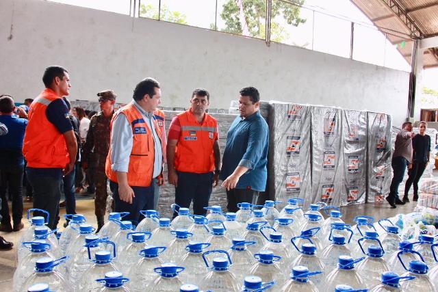 No Jari, ministro da Integração fiscaliza entrega de kits