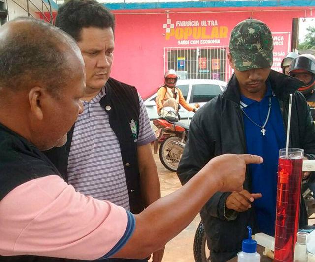 Posto de combustível em Santana é interditado por irregularidade na venda