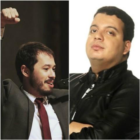 """Humoristas de """"A Culpa é do Cabral"""" fazem apresentação em Macapá"""