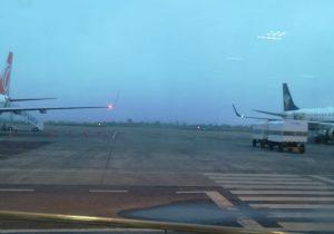 Nevoeiro cancela voos no aeroporto de Macapá