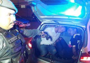 Ladrão de moto é capturado após levar tiro na nádega