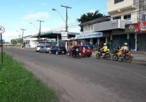 Macapá amanhece com filas nos postos por causa da greve dos caminhoneiros