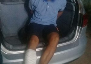 Menor infrator é baleado no pé em tentativa de roubo