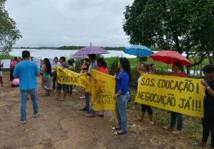 Professores paralisam por três dias em Pracuúba