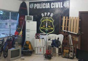 """Em Porto Grande, polícia recupera """"mudança"""""""