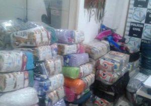 Grupo é preso furtando cestas básicas destinadas às vítimas da enchente