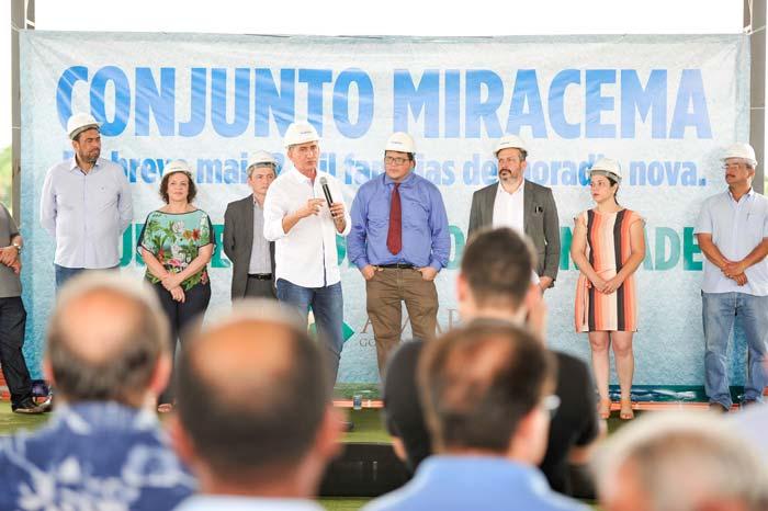 Governo inicia construção do Miracema