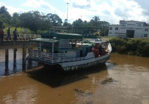 MPF denuncia brasileiros que conduziam embarcação roubada da Guiana