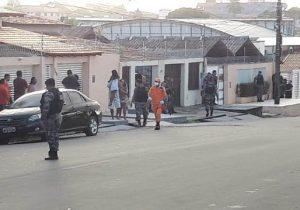 Bandidos fazem família refém após assalto frustrado